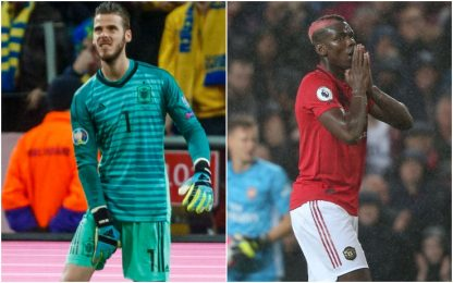 Ahi United! De Gea e Pogba out con il Liverpool