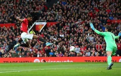 United-Liverpool 1-1, Klopp si salva nel finale