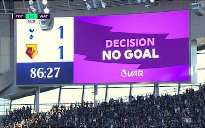 Caos Var in Tottenham-Watford, arrivano le scuse