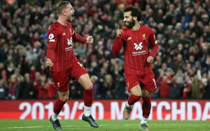 Henderson-Salah ribaltano gli Spurs: Liverpool ok