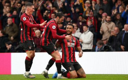 King stende lo United, vince il Bournemouth 1-0