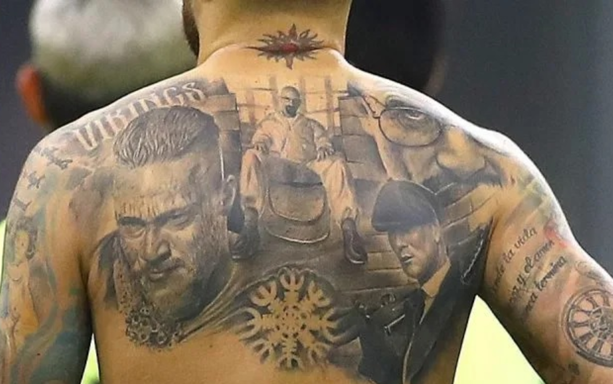 I tatuaggi di Otamendi