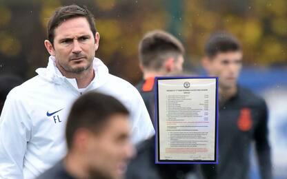 Sergente Lampard, ecco la lista multe del Chelsea