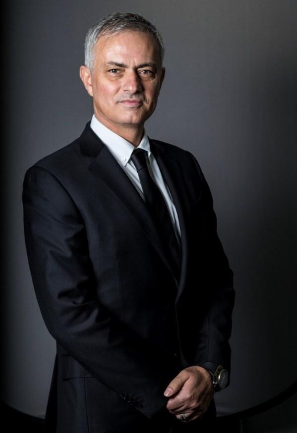 Mourinho, foto ufficiale Tottenham