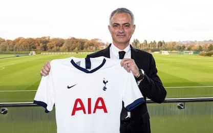 """Mou: """"Passione e responsabilità per il Tottenham"""""""