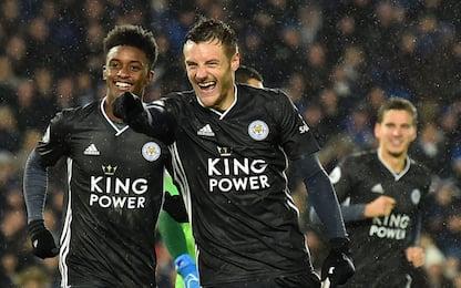 Vardy porta il Leicester al 2° posto: i risultati