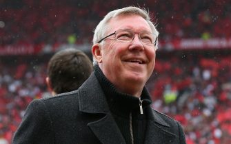 MANCHESTER, ENGLAND - MAY 12:  Manchester United Manager Sir Alex Ferguson looks on prior to the Barclays Premier League match between Manchester United and Swansea City at Old Trafford on May 12, 2013 in Manchester, England.  (Photo by Alex Livesey/Getty Images)