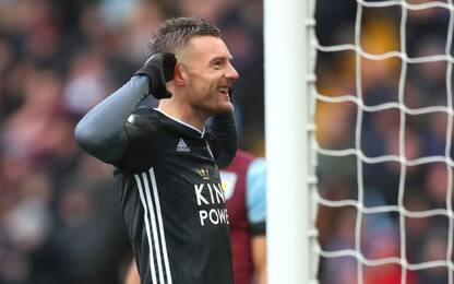 Vardy segna ancora, Leicester sempre più secondo