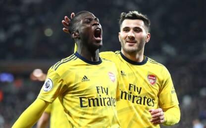 West Ham-Arsenal 1-3, primo successo per Ljungberg