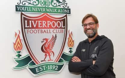 Klopp si lega al Liverpool: rinnovo fino al 2024