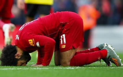 Liverpool, ci pensa Salah: 2-0 al Watford