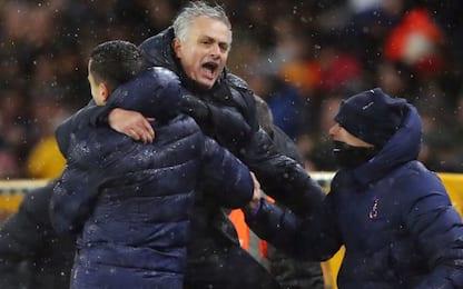 Mourinho vince nel recupero, pari per lo United