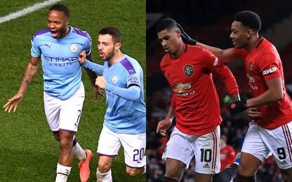 Coppa di Lega, derby di Manchester in semifinale