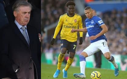 Everton, pari e poche emozioni davanti a Ancelotti