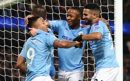 Il City ferma la corsa Leicester: 3-1 all'Etihad