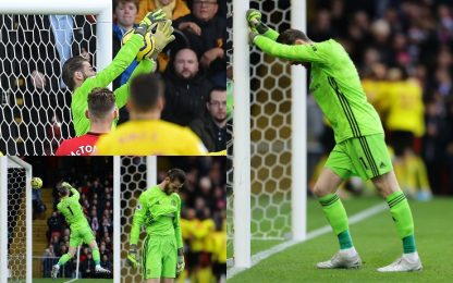 De Gea tradisce lo United: papera a Watford. VIDEO