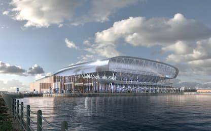 Everton, c'è l'ok per il nuovo stadio sull'acqua