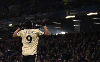 Martial-Rashford, lo United supera 2-0 il Burnley