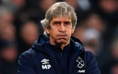 Pellegrini esonerato dal West Ham: arriva Moyes?