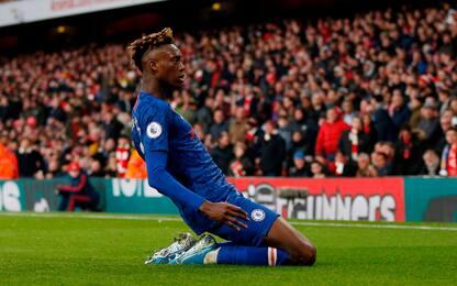 Jorginho-Abraham, il Chelsea ribalta 2-1 l'Arsenal
