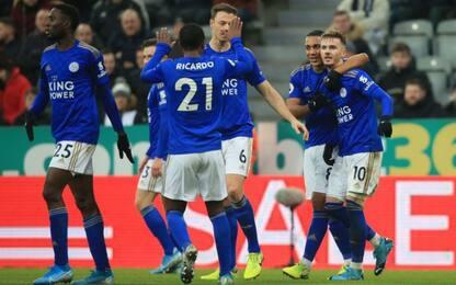 Pep batte Ancelotti, tris Leicester al Newcastle