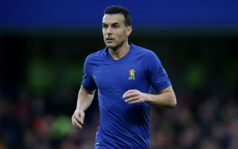 LONDON, ENGLAND - JANUARY 05: Pedro of Chelsea during the FA Cup Third Round match between Chelsea FC and Nottingham Forest at Stamford Bridge on January 05, 2020 in London, England. (Photo by Robin Jones/Getty Images)