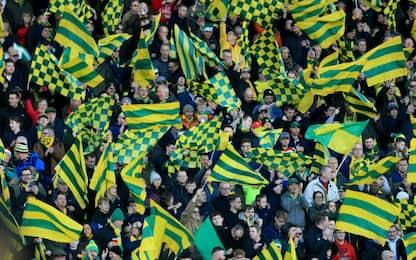 Norwich, tifoso lascia 100£ in eredità al club