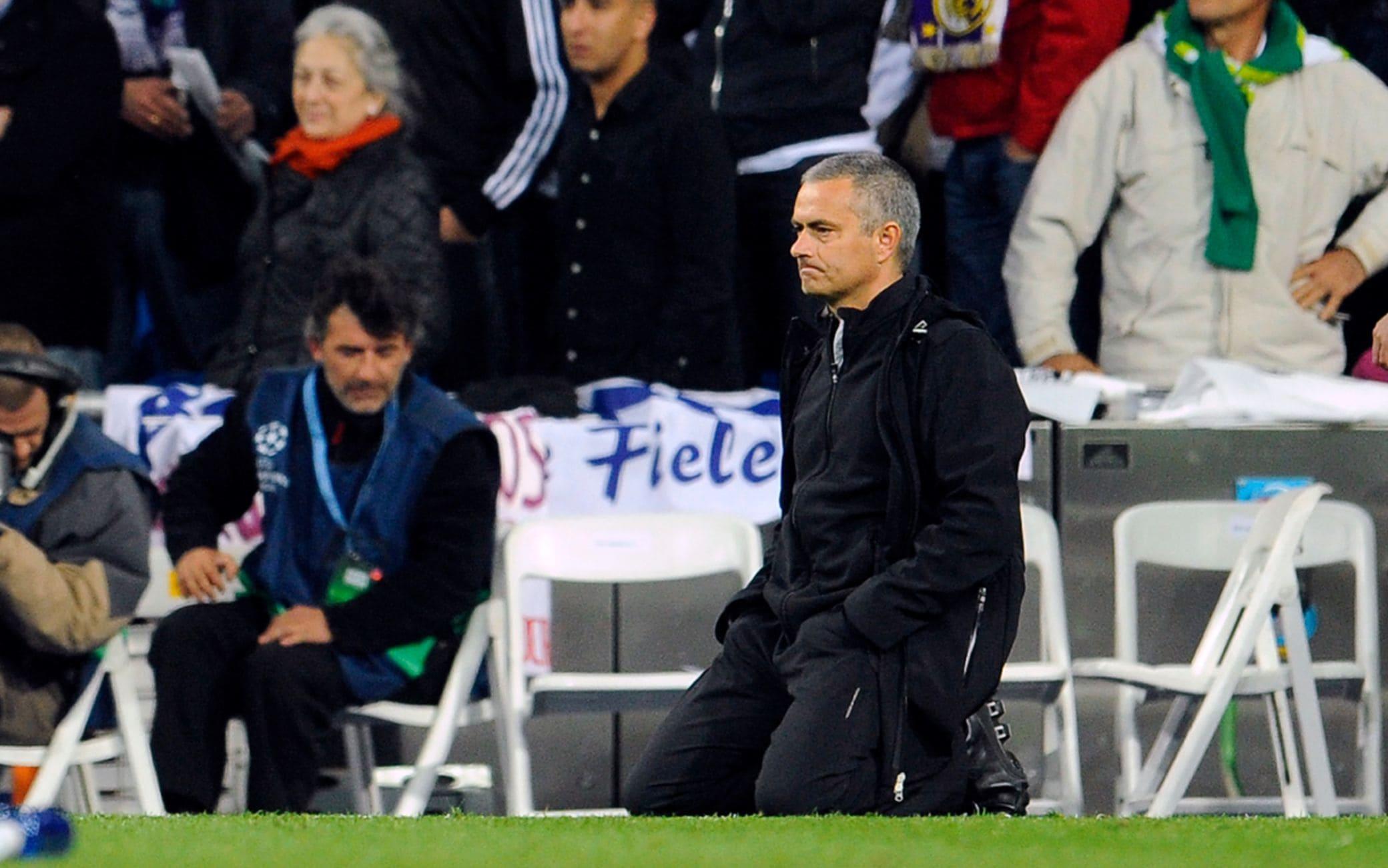 La disperazione per l'eliminazione nella semifinale di Champions del 2012