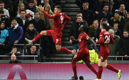 Inarrestabile Liverpool, anche il Tottenham va ko