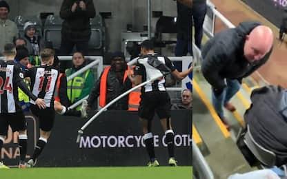 Gol nel recupero, gioia e... dolore a Newcastle