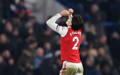 Chelsea-Arsenal 2-2, City di misura: i risultati