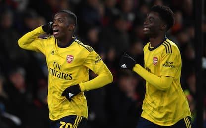 L'Arsenal vince in FA Cup, sorteggiati gli ottavi