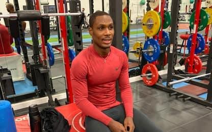 Ighalo in quarantena allo United: si allena solo