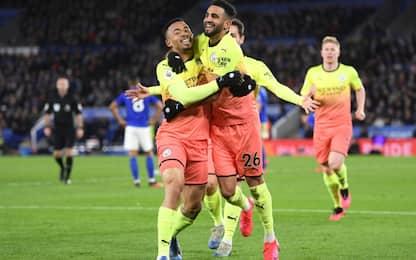 Decide Gabriel Jesus: il City stacca il Leicester