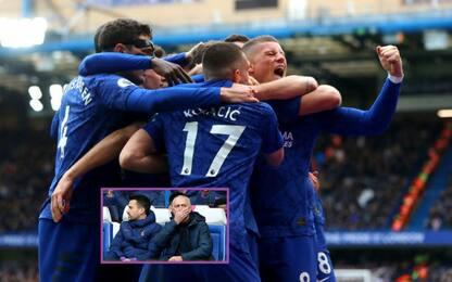 Mou cade a Stamford Bridge: Chelsea-Tottenham 2-1