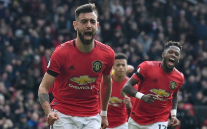 United, tris al Watford: sorpassato il Tottenham