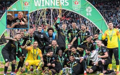 Il City vince la Coppa di Lega: è la terza di fila