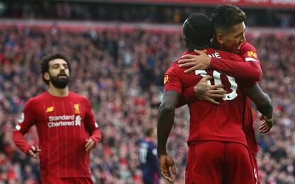 Premier, titolo in campo neutro per il Liverpool?