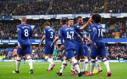 Ancelotti crolla contro il Chelsea: Everton ko 4-0
