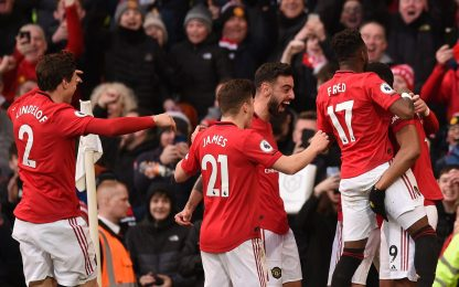 Martial-McTominay, lo United batte il City 2-0