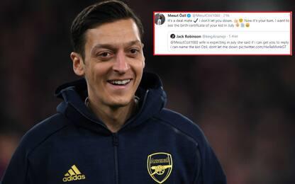 """""""Rispondi e chiamo mio figlio Ozil"""": Mesut accetta"""