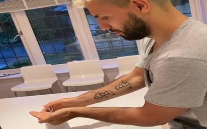 """Aguero si lava le mani: """"Ora essere responsabili"""""""