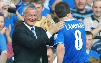 """Ranieri incorona Lampard: """"Giocatore ideale"""""""