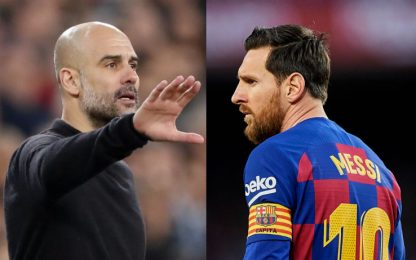 Lotta al virus, Guardiola e Messi donano 1 milione