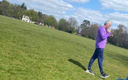 Allenamento al parco, Mourinho chiede scusa