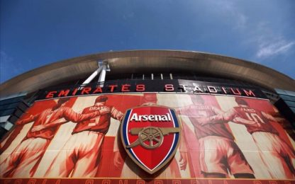 Arsenal: stipendi -12,5 % per giocatori e staff
