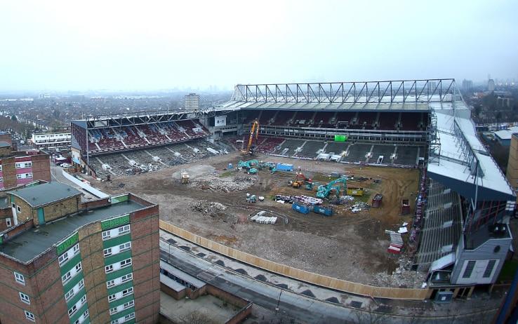 La demolizione di Boleyn Ground