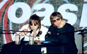 25-08-1999SPETTACOLONELLA FOTO: LIAM E NOEL GALLEGHER@LAPRESSE