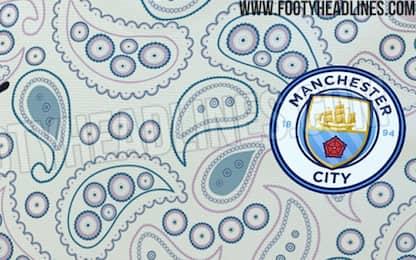 """City 2020/21, terza maglia o """"pigiama""""? FOTO"""
