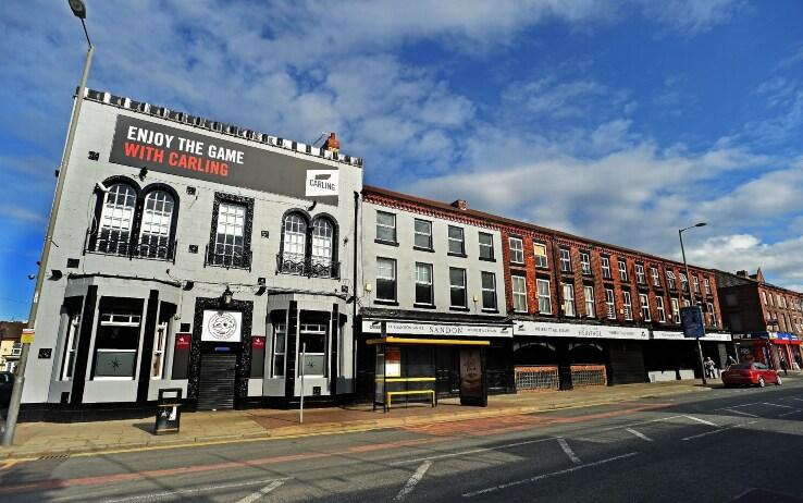 """The Sandon, il pub dove """"tutto ebbe inizio"""" (come si legge all'ingresso)"""